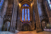 Liverpool England Prints - Cathedral Church of Christ Print by Ian Mitchell