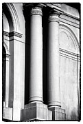 Louisiana Artist Prints - Cathedral Columns Print by John Rizzuto