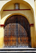 Church Photos - Cathedral Door by Rachel Munoz Striggow