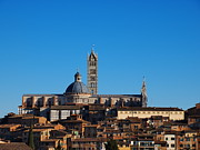 Sienna Italy Framed Prints - Cathedral in Siena Framed Print by Karol Kozlowski