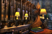 Bible Photos - Cathedral Lamps by Ian Mitchell