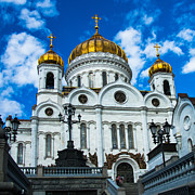 Russian Cross Photos - Cathedral of Christ the Savior Of Moscow - Russia - Featured 3 by Alexander Senin