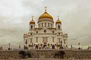 Orthodox Photo Posters - Cathedral of Christ the Saviour Poster by Lars Ruecker