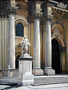Sicily Sculptures - Cathedral of Syracuse by Kathleen English-Barrett