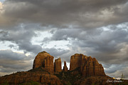Cathedral Rock Posters - Cathedral Rock Poster by Dave Gordon