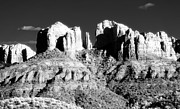 Cathedral Rock Photo Framed Prints - Cathedral Rock Glow Framed Print by John Rizzuto