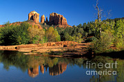Cathedral Rock Print by Mark Newman