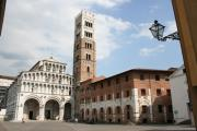 Lucca Framed Prints - Cathedral San Martino Lucca Framed Print by Christiane Schulze
