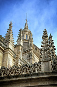 Castilla Prints - Cathedral Spires Print by Joan Carroll