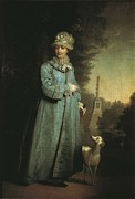Catherine The Great Prints - Catherine Ii The Great 1729-1796 Print by Everett