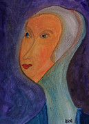 Portraits Paintings - Catherine  by Oscar Penalber