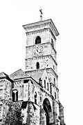 European Church Acrylic Prints - Catholic Cathedral in Alba Iulia Acrylic Print by Gabriela Insuratelu
