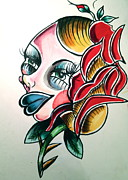 Hair Bun Originals - Cathys Clown by Britt Kuechenmeister