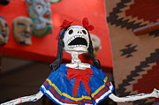 Party Pyrography - Catrina doll by Susie Blauser
