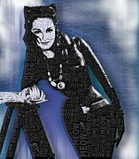 Superhero Originals - Catwoman Julie Newmar by Tony Rubino
