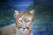 The Tiger Paintings - Catya by Tammy Rainey