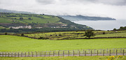 Fleece Posters - Causeway Coastal Route in Northern Ireland Poster by Semmick Photo