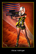 Alicia Hollinger - Caution Sci-Fi Blonde...