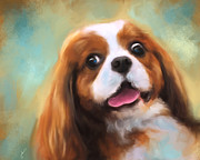 Dog Show Posters - Cavalier King Charles Spaniel Poster by Jai Johnson
