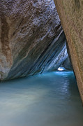 Virgin Gorda Island Art - Cave at The Baths by Adam Romanowicz