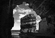 Bluesky Photo Prints - Cave with a view Print by Tony Reddington