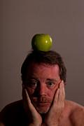 Ceci N'est Pas Une Pomme. Print by Louis Shackleton