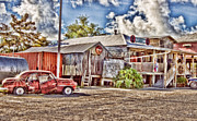 Country Store Framed Prints - Cecils Framed Print by Scott Pellegrin