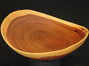Wooden Bowls Originals - Cedar Bowl by Stephen Griffin