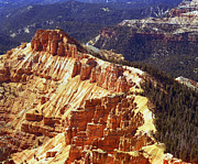 Red Cliffs Prints - Cedar Breaks Utah Print by Rich Franco
