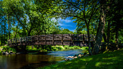 Cedar Creek Prints - Cedar Creek Bridge Print by Randy Scherkenbach
