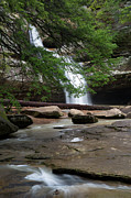 Water Falls Photos - Cedar Falls by Dale Kincaid