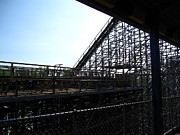 Mean Framed Prints - Cedar Point - Mean Streak - 12121 Framed Print by DC Photographer