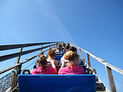 Mean Prints - Cedar Point - Mean Streak - 12122 Print by DC Photographer