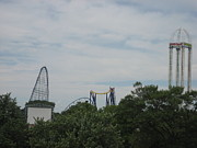 Force Posters - Cedar Point - Millennium Force - 12122 Poster by DC Photographer