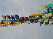 Wicked Framed Prints - Cedar Point - Wicked Twister - 121210 Framed Print by DC Photographer