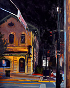 Cedarburg Posters - Cedarburg Nocturne No.2 Poster by Anthony Sell