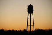 Watertower Prints - Celanese Water Tower Print by Dennis Strickland