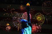 Celebrate America Print by Bill Cannon