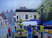 Lamppost Paintings - Celebrating 100 Years of the Ripley rattlers Kimberley by Ruth Gray