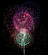 Pyrotechnics Prints - Celebrating America Print by Kim Pate