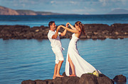Mauritius Prints - Celebrating Love Print by Jenny Rainbow