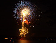 Forth Of July Photos - Celebrating The 4th At The Lake 2 by Raymond Earley