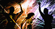 Dancing Digital Art - Celebration  by Bob Orsillo