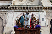 Wooden Sculptures Prints - Celebrations on Palm Sunday in Cordoba Print by Artur Bogacki