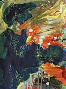Celestial Landscape Print by Ethel Vrana