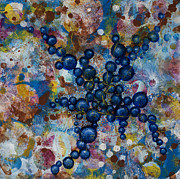 Microscopic Paintings - Cell No.20 by Angela Canada-Hopkins