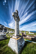 Grave Art - Celtic Cross by Adrian Evans