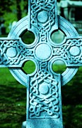 Celtic Cross Print by Kathleen Struckle