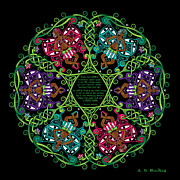 Angela Dawn MacKay - Celtic Fairy Mandala
