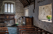 Inside Metal Prints - Celynnin Church v2 Metal Print by Adrian Evans